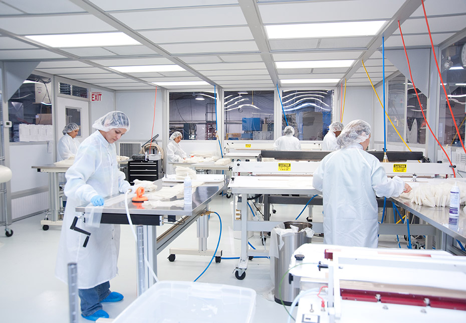 Medical Device Clean Room Manufacturing | Genesis Plastics Welding
