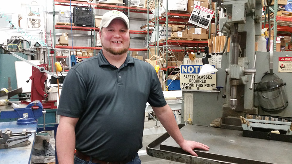 Josh Wheeler, Genesis Plastics Welding