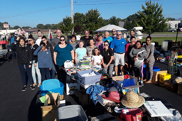 Genesis Plastics Welding Pay It Forward Garage Sale
