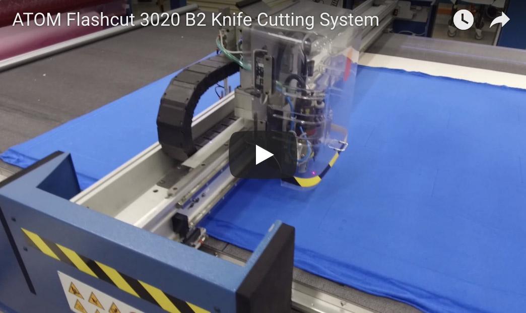 Atom Flashcut 3020 B2 Knife Cutting System