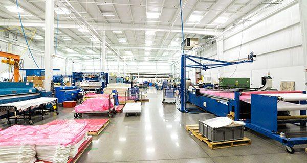 Genesis Plastics Welding manufacturing floor